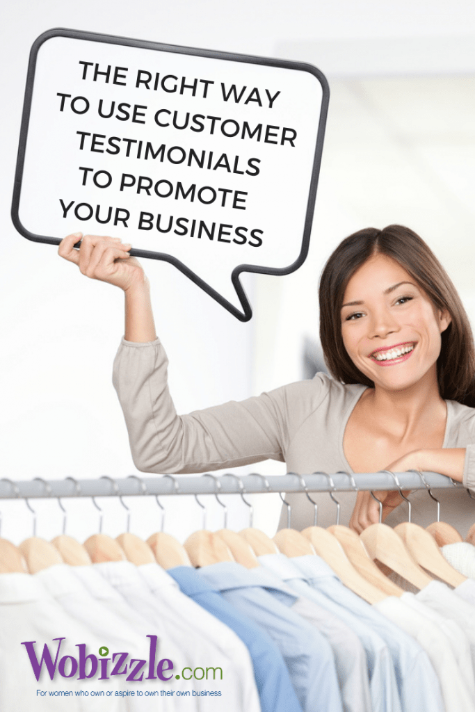 Using customer testimonials to promote your business